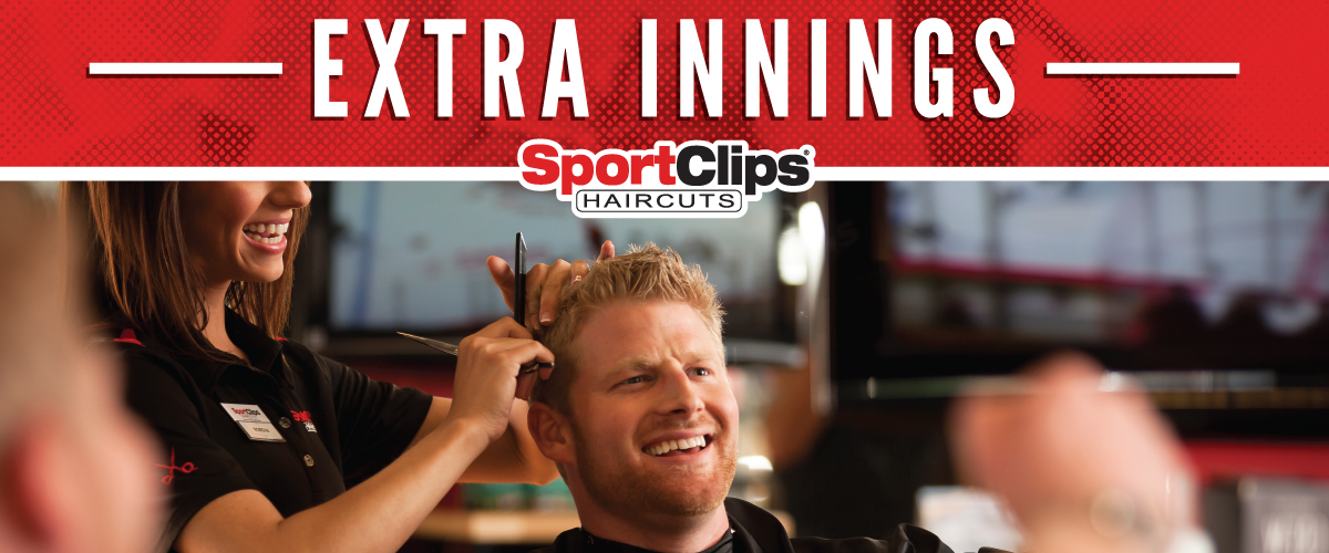 The Sport Clips Haircuts of Laguna Niguel  Extra Innings Offerings
